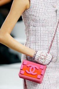 Chanel Pink Boy Brick Flap Bag - Spring 2014 Runway 1