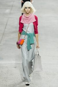 Chanel Plexi Orange and Red Bag - Spring 2014 Runway