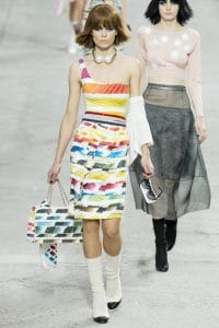 Chanel Pop Art Flap Bag - Spring 2014 Runway