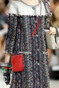 Chanel Red Logo CC Pouch Messenger - Spring 2014 Runway