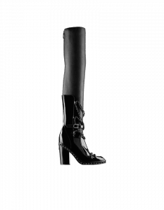Chanel Thigh High Boot with Chain - Fall 2013