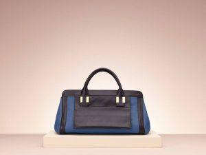 Chloe Alice Royal Navy Blue Bag - Holiday 2013