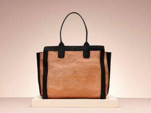 Chloe Alison Cream Black Shopping Tote Bag - Holiday 2013
