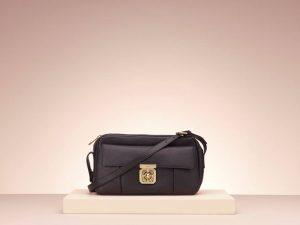 Chloe Black Elsie Medium Bag - Holiday 2013