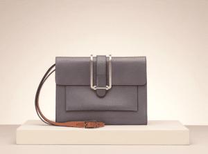 Chloe Cashmere Grey Bronte Medium Bag