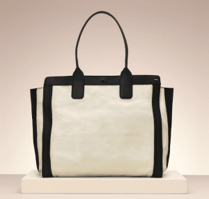 Chloe Husky White Alison Medium Tote Bag
