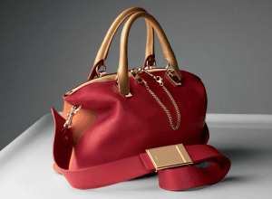 Chloe Mandarine Peel/Cherry Jelly Baylee Medium Bag
