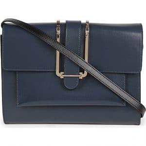 Chloe Navy Bronte Medium Bag