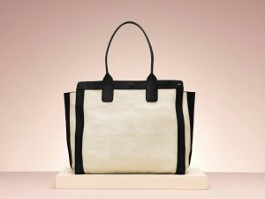 Chloe White and Black Alison Shopping Tote bag - Holiday 2013