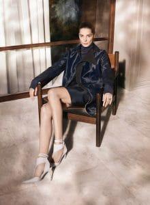 Daria Werbowy in Salvatore Ferragamo Fall-winter 2013 Ad Campaign