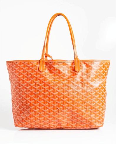 Goyard Orange Saint Louis Pm Bag