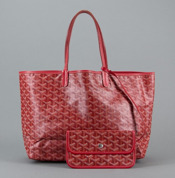 Goyard Red Saint Louis Pm Bag