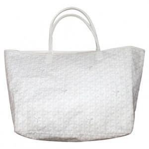 Goyard White Saint Louis GM Bag