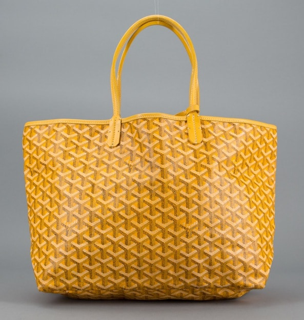 Goyard Yellow Saint Louis Pm Bag