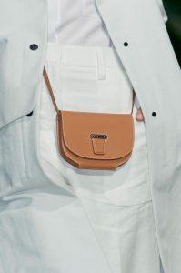 Hermes Gold Crossbody Flap Mini Bag - Runway Spring 2014