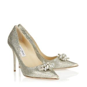 Jimmy Choo Dempsey Pointy Pumps with Crystals - Cruise 2014