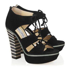 Jimmy Choo Hammer Platform Sandals - Cruise 2014