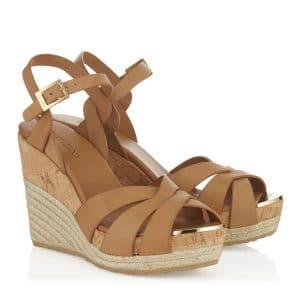 Jimmy Choo Pallet Platform Sandals - Cruise 2014