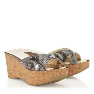 Jimmy Choo Prima Wedge Sandals - Cruise 2014