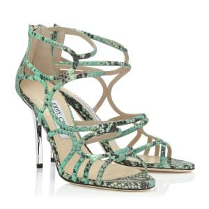 Jimmy Choo Sazerac Strappy Sandals - Cruise 2014