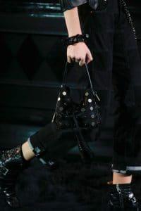 Louis Vuitton Black Embellished Noe Bag 1- Runway Spring 2014