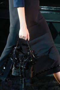 Louis Vuitton Black Embellished Noe Bag 2 - Runway Spring 2014
