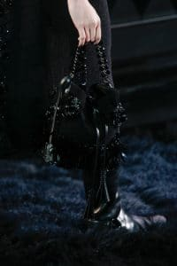 Louis Vuitton Black Embellished Noe Bag 4 - Runway Spring 2014