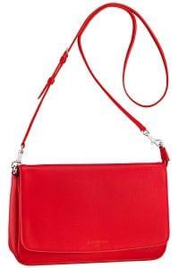 Louis Vuitton Coral Red Pochette Flap Bag - Cruise 2014
