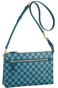 Louis Vuitton Cyan Damier Couleur Modul Bag - Cruise 2014