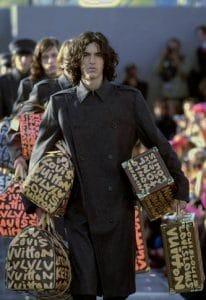 Louis Vuitton Runway 2001 Graffiti Bags