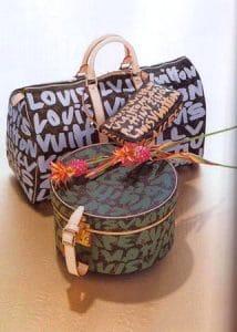 Louis Vuitton Runway 2001 Graffiti Bags 3