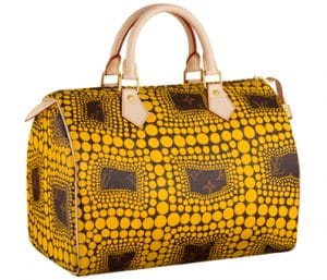 Louis Vuitton Yellow Monogram Town Speedy Bag