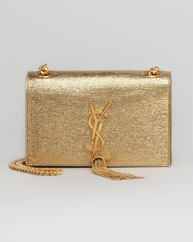 ... shoulder bag gold ysl bag . d8757cde90973