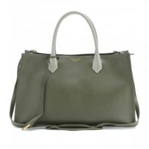 Balenciaga Green 'Nude' Padlock Tote Bag - Fall 2013
