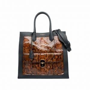Balenciaga Python Padlock All Time Bag