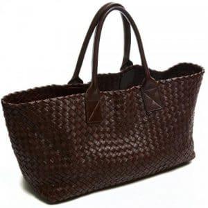 Bottega Veneta Brown Cabat Medium Bag