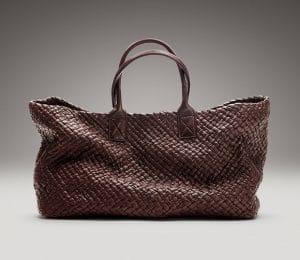 Bottega Veneta Chocolato Memory Cabat Large Bag