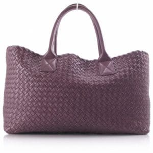 Bottega Veneta Lilac Cabat Medium Bag