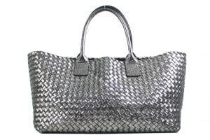 Bottega Veneta Moon Metallic Cabat Medium Bag