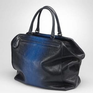 Bottega Veneta Prusse Electrique Madras Sfumato Large Brera Bag