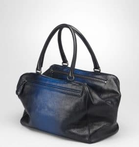 Bottega Veneta Prusse Electrique Madras sfumato Brera Medium Bag