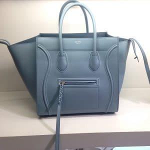 Celine Antique Blue Phantom Bag - Cruise 2014