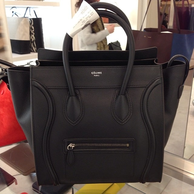 look alike celine luggage purse
