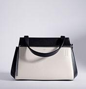 Celine Black/White Edge Bag