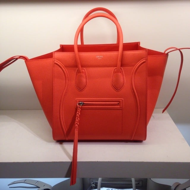 celine tote red bag handbag