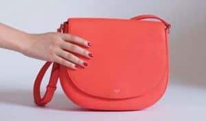 Celine Coral Trotteur Bag