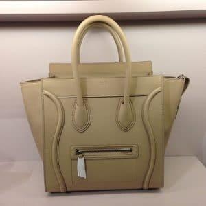 Celine Sand Mini Luggage Bag - Cruise 2014