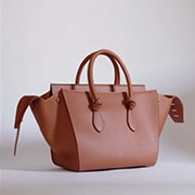 Celine Tan Tie Tote Bag