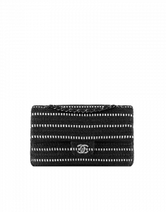Chanel Black and white tweed Classic Flap Bag - Cruise 2014