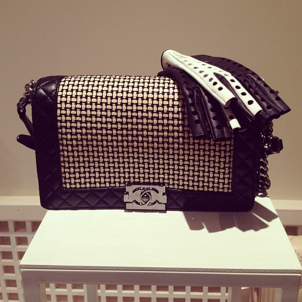 chanel cruise 2014 collection previews on instagram